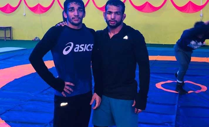 SAF Games Wrestling : Indian wrestlers conduct first training session in Nepal, check the video
