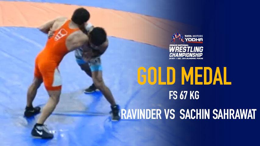 Senior National Wrestling Championship - Ravinder vs Sachin Sahrawat