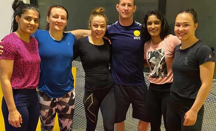 Vinesh Phogat trains with world champion Mariya Stadnik in Bulgaria