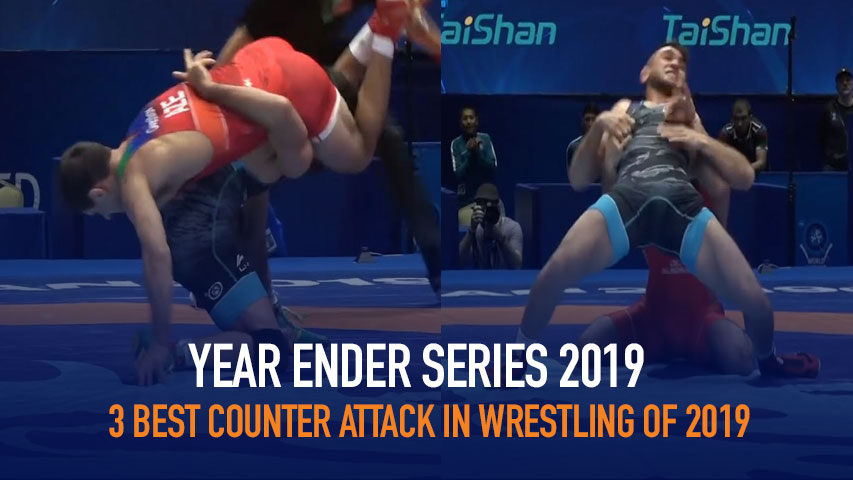 Watch the 3 Best Counter attack in Wrestling of 2019