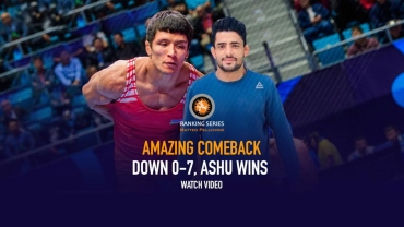 Rome Ranking Series : Debutant Ashu makes a amazing comeback after going down 7-0 to win the opening bout