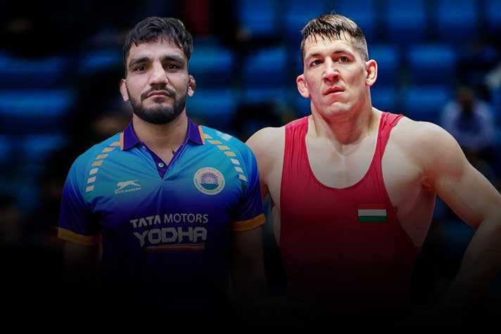 Rome Ranking Series : Sunil Kumar upsets Pan-American champion to make it to the finals of 87kg category