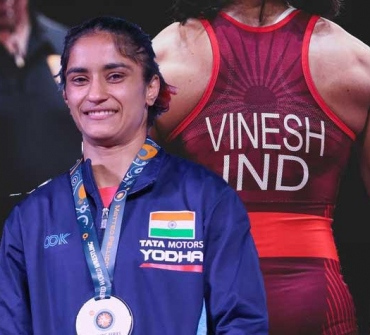 Gold in Rome shows I am on right track in Olympic year: Vinesh