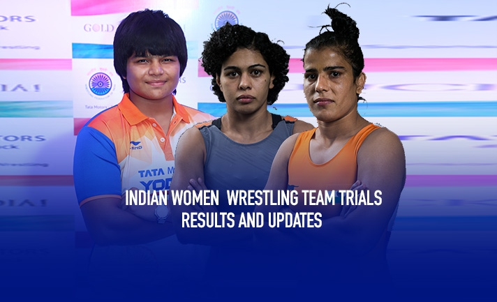 Indian Women Wrestling Team Trials: All you want to know about all the results, draws and updates