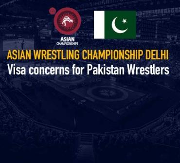 Asian Wrestling Championship Delhi: Visa concerns for Pakistan contingent