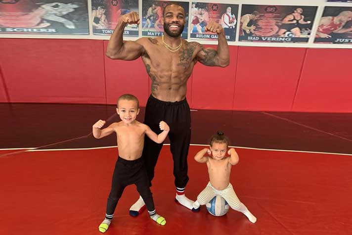 Jordan Burroughs shares how his strikes a perfect balance between family and wrestling
