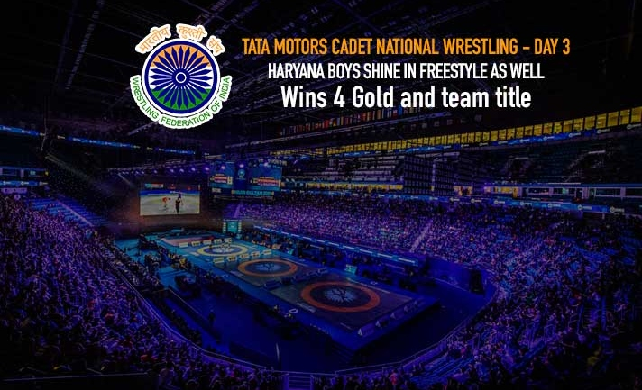 TATA Motors Cadet National Wrestling : After winning girls and greco-roman championship, Haryana pockets freestyle team title as well