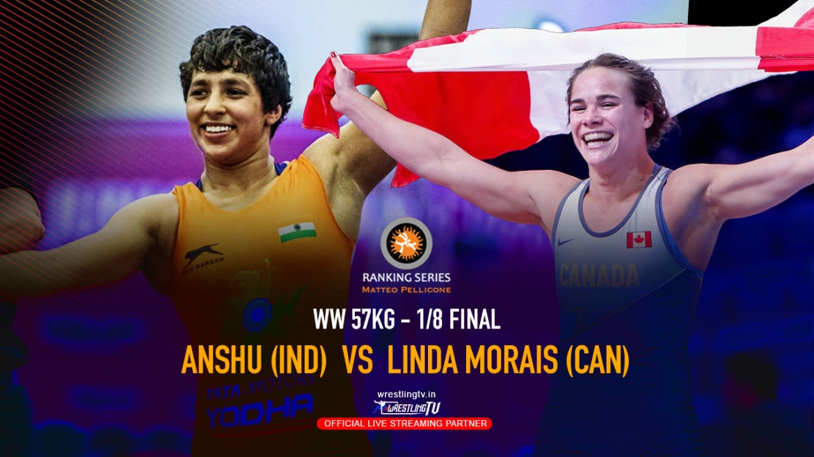 Anshu stuns world champion Linda Morais of Canad – Rome Ranking Series 2020
