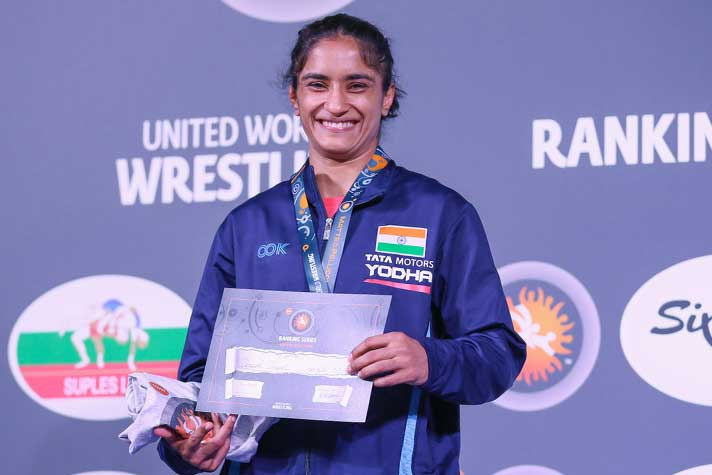 """I feel very good by winning gold, Asian Championship is next target"" Vinesh Phogat"