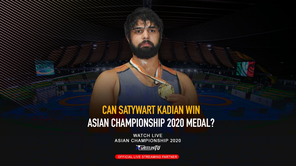 Can Satywart Kadian Win Asian Championship 2020 Medal?