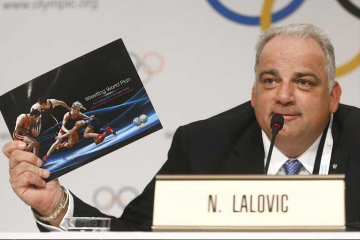 Lalovic: Man behind wresting's re-emergence from threshold of Olympics elimination