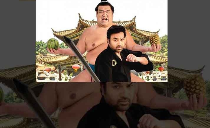 Former Japanese Sumo Wrestling champ acts in just to be released Tamil movie