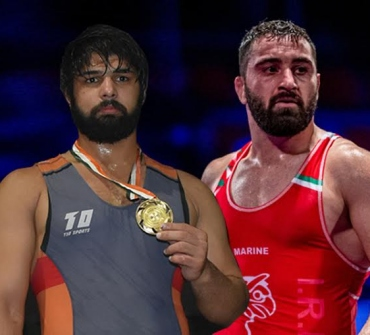 Asian Wrestling Championships 2020 : Satyawart Kadian in finals, gold batter against 2 time U23 World Champion Goleij from Iran