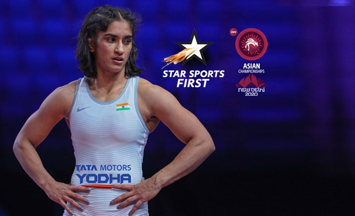 Asian Wrestling Championships LIVE on Star Sports First
