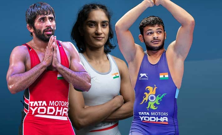 UWW Rankings: 12 Indian wrestlers grab top 10 spots in 30 weight categories