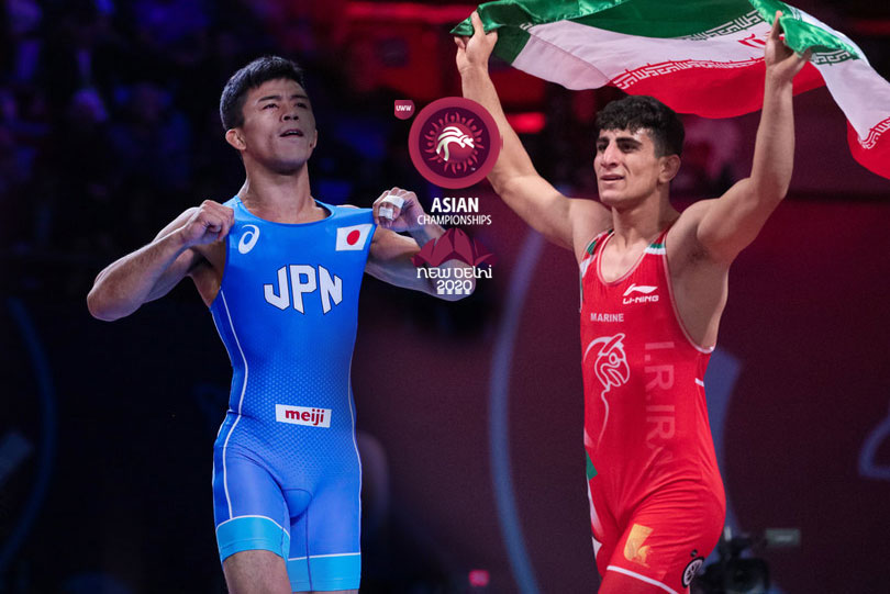 Japan, Iran Greco-Roman teams arrive for Asian Wrestling Championships
