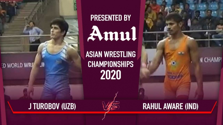 Asian Wrestling Championships 2020: Rahul Aware wins 20 points heart-stopping thriller enters last 4