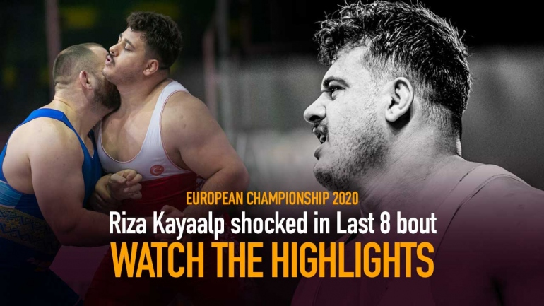 European Wrestling Championships 2020: Rome – Riza Kayaalp shocked in Last 8 bout – Watch the Highlights