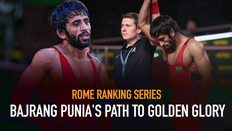 Rome Ranking Series: Bajrang Punia's path to golden glory