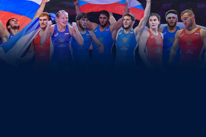 UWW Rankings : 9 Russians ranked number 1 in the world different categories, USA has 5 world number 1 wrestlers