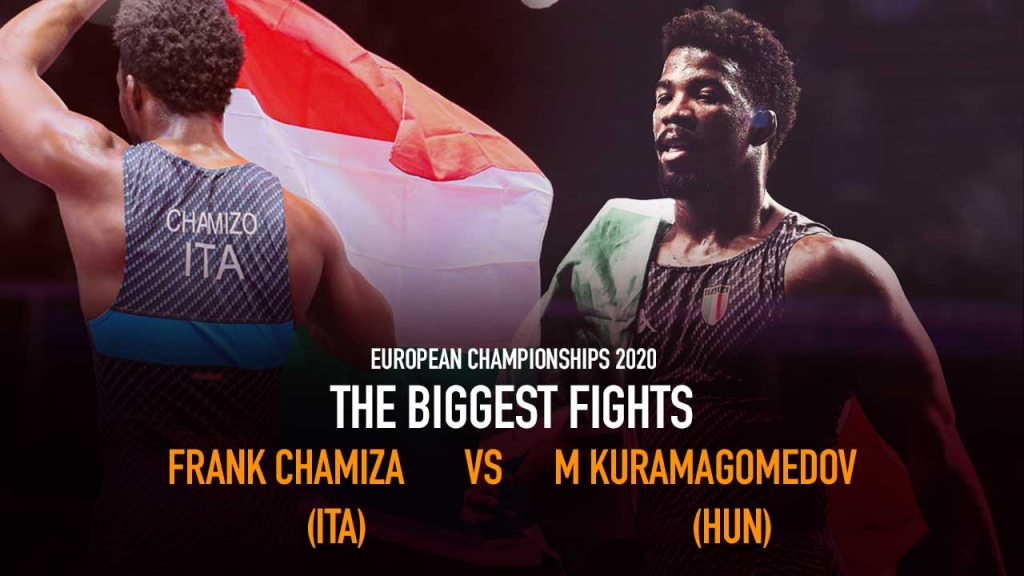 The Biggest fights - Frank Chamiza (ITA) df. Murad Kuramagomedov (HUN)- European Championships 2020