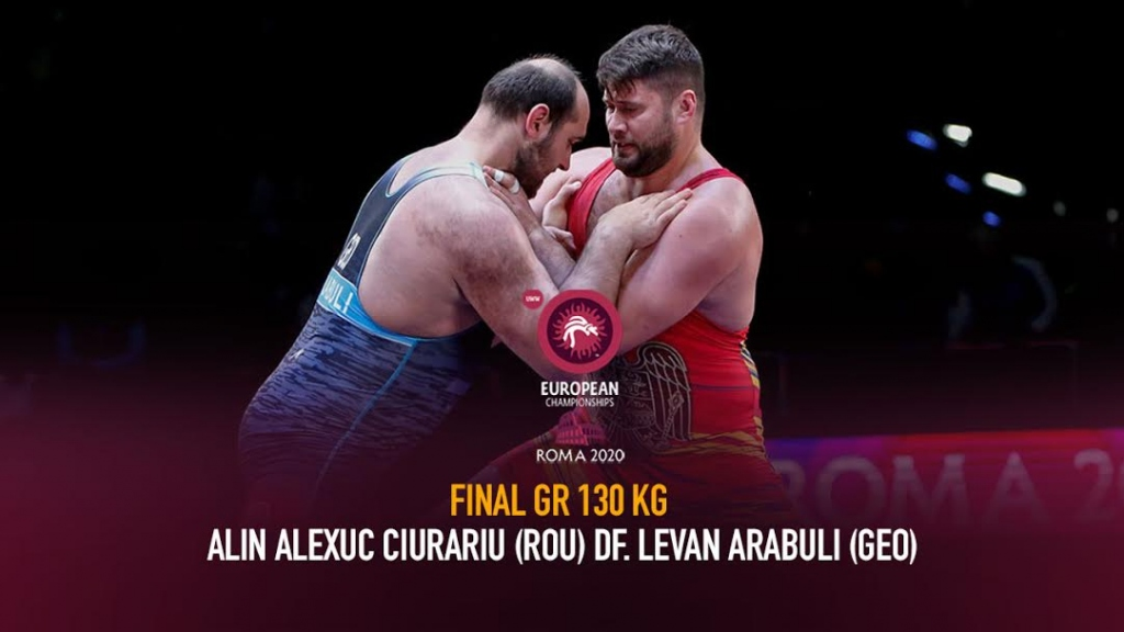 Watch European Wrestling Championship Final GR 130 kg