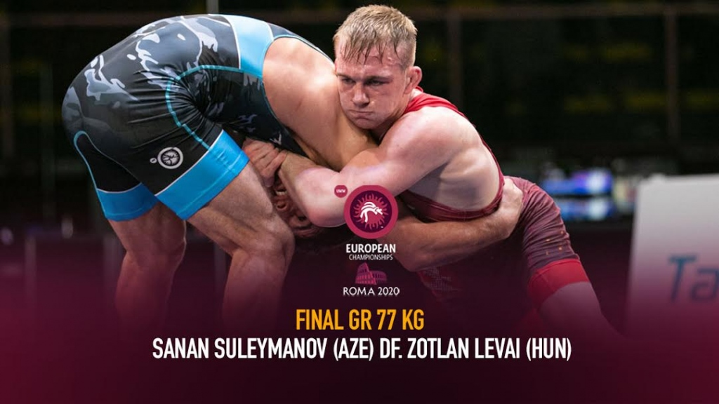 Watch European Wrestling Championship Final GR 77kg - Sanan