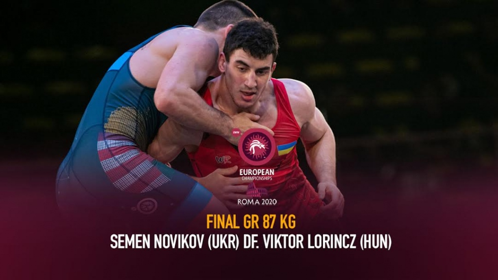 Watch European Wrestling Championship Final GR 87 kg