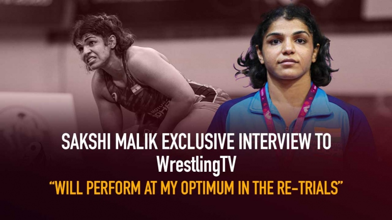 Sakshi Malik exclusive interview to WrestlingTV: Will perform at my optimum in the re-trials