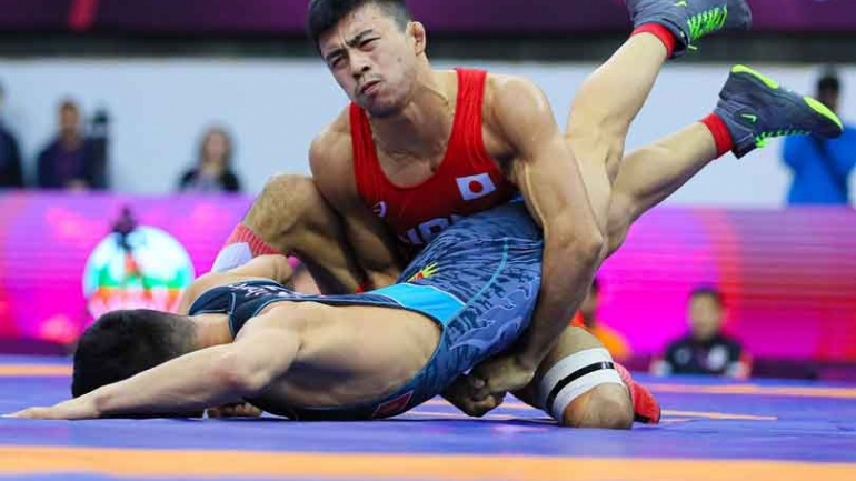 Asian Wrestling 2020 : World Champion Fumita reigns supreme in 60kg, Iran wins Greco-Roman team title