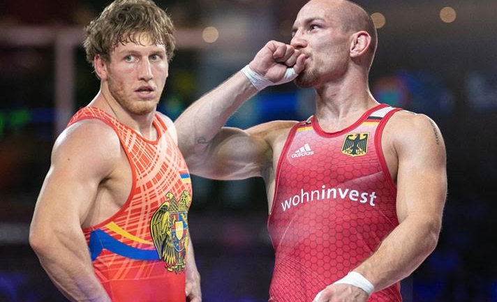 European Wrestling Championships: Crowd favorites Frank Staebler, Artur Aleksanyan enter finals in Rome, will play for gold tonite