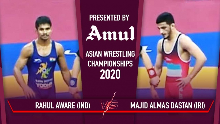 Watch Rahul Aware Bronze Medal Match – Asian Wrestling Championships 2020 Day 6