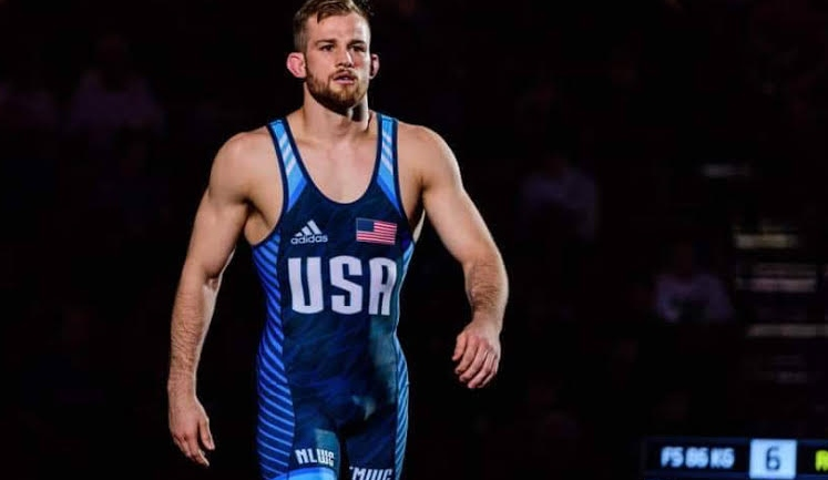 Golden comeback for David Taylor as 2018 World Champion qualifies for Tokyo 2020 Olympics