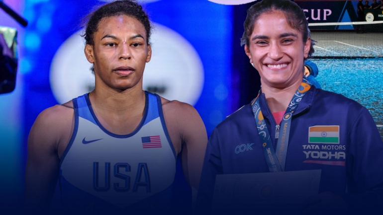 Tokyo 2020: Jacarra Winchester emerges as new challenge for Vinesh Phogat