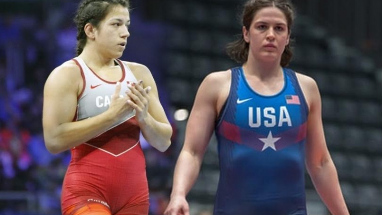 Pan American Wrestling : 2018 World Champion Justina Di Stasio wins 76kg gold as Adeline Gray withdraws from the final