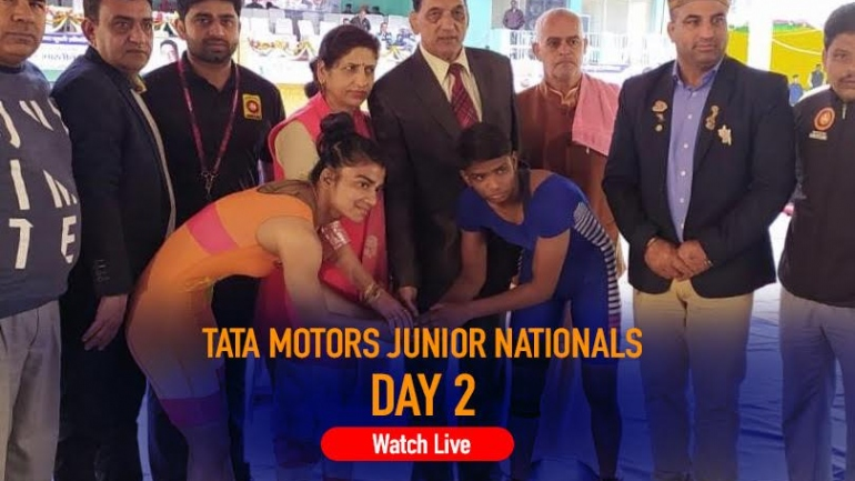 Tata Motors Junior National Wrestling Championships Day 2 LIVE: Women wrestlers to fight it out on Day 2