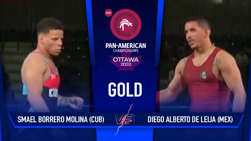 World Champion Ismael Borrero - Gold Medal Match - Pan American Championships 2020