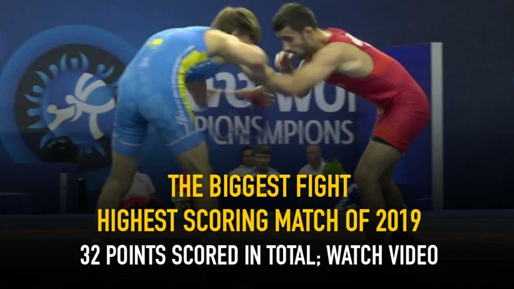 Highest scoring match of 2019 32 points scored in total; Watch video