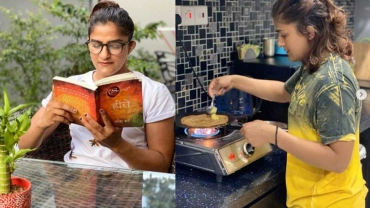 Social Room: Ritu Phogat does these 3 fun things in quarantine at home
