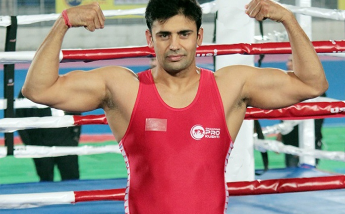 Wrestler Sangram Singh launches nationwide campaign to educate youth about impacts of coronavirus