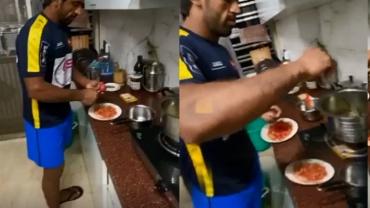 Social Room: Bajrang Punia shows off his cooking skills amid 'Janta Curfew' initiative