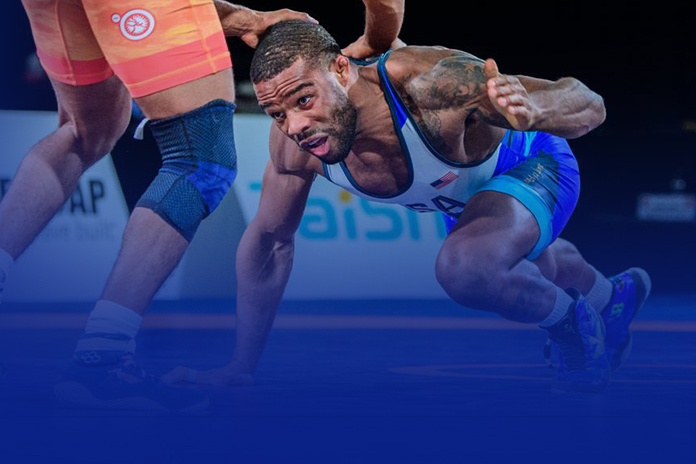 Jordan Burroughs' perfect return to wrestling, rallies to defeat Valencia