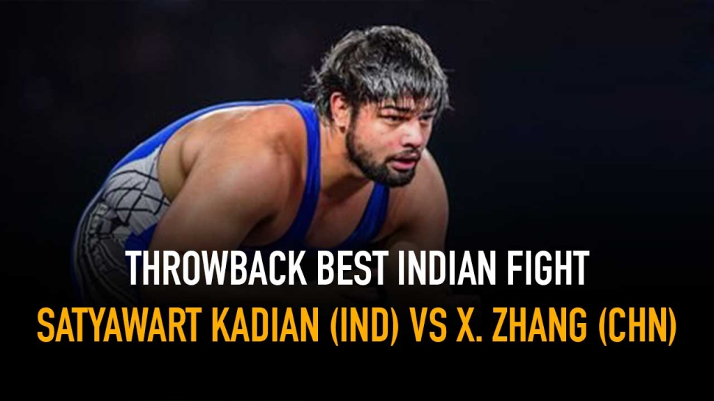Satyawart Kadian,X. ZHANG,Best Indian Fights,Wrestling India,Wrestling News India