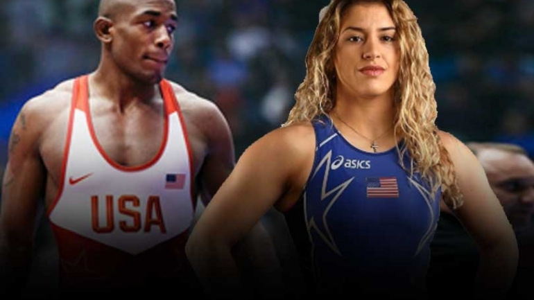 Take a look how Olympic medallists Jaden Cox and Helen Maroulis are spending time in midst of Coronavirus crisis