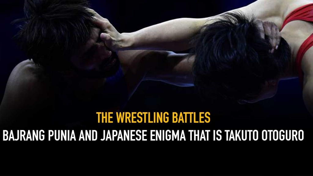 The Wrestling Battles,Bajrang Punia,Takuto Otoguro,Wrestling India,Wrestling News India
