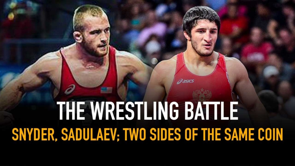 The Wrestling Battle,Kyle Snyder,Abdulrashid Sadulaev,Abdulrashid Sadulaev Videos,Wrestling News India