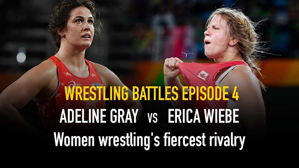 The Wrestling Battles,Wrestling Battles,Adeline Gray,Erica Wiebe,Wrestling News India
