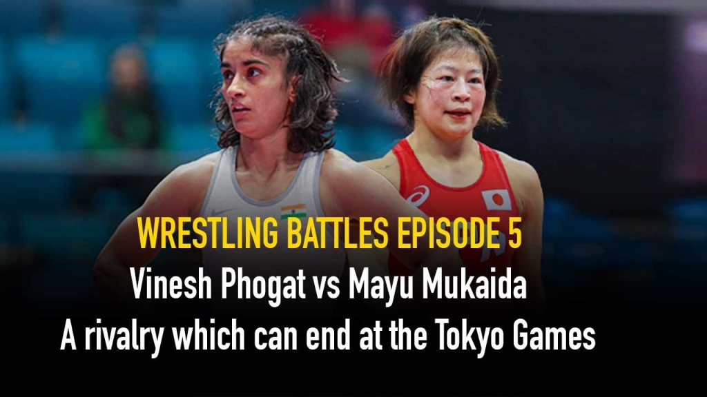 Vinesh Phogat,Mayu Mukaida,The Wrestling Battles,Wrestling India,Wrestling News India