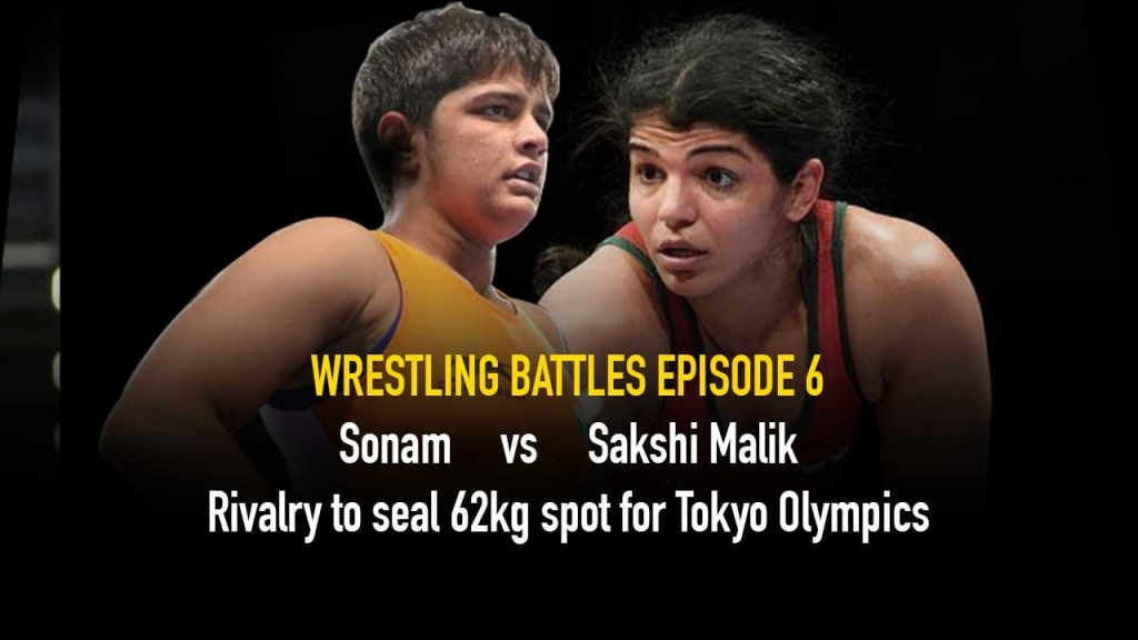 Sonam Malik,Sakshi Malik,The Wrestling Battles,Wrestling India,Wrestling News India