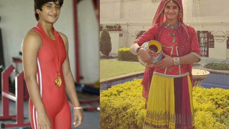 From Adeline Gray, Bajrang Punia to Geeta Phogat; here are some unseen childhood pics of your favourite wrestlers